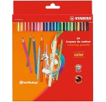 STABILO COLOR PENCILS 24pcs