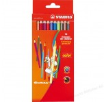 STABILO COLOR PENCILS 12pcs