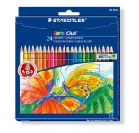 STAEDTLER PENCILS-NORIS 24 COLORS