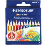 STAEDTLER PENCILS-NORIS 12 COLORS/HALF