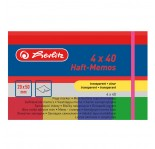 HERLITZ MEMO STICKER 20x50- 4 CLEAR