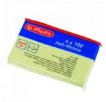 HERLITZ MEMO STICKER 20x50- 4 YELLOW