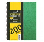 SILVINE LINED PAD A5 200 pages