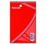 SILVINE WRITING PAD 12.5x20cm