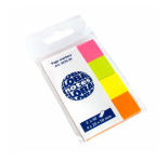 GLOBAL PAGE MARKER 20X50MM 4cX40s